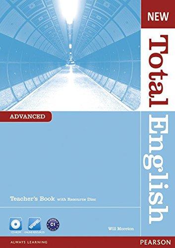 New Total English Advanced Teacher's Book and Teacher's Resource CD Pack