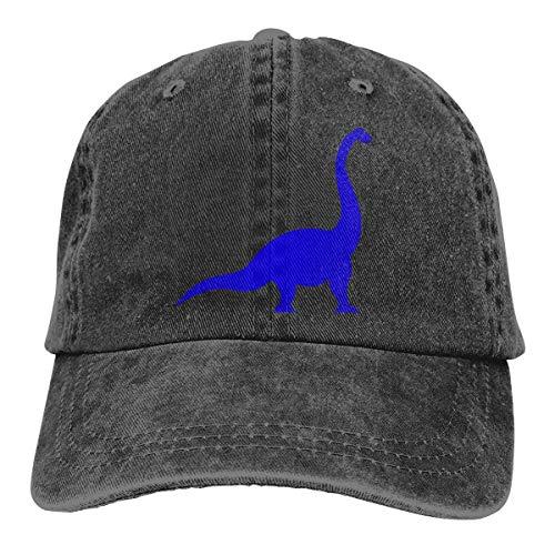 nnenkappen Sport Hut Brachiosaurus Dinosaur Men's Women's Adjustable Jeans Baseball Hat Yarn-Dyed Denim Trucker Hat Sports Cool Youth Golf Ball Unisex Hiking Cowboy hat hip hop ()