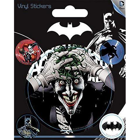 Batman - Joker, DC Comics Pegatina Vinilo Autoadhesivo (12 x 10cm)