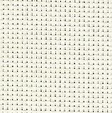 Aida-Zählstoff (6creme Aida Binca Stoff Qualität Stoff ideal für Kinder Schnittmuster in verschiedenen Größen, Elfenbeinfarben, 50 x 60 cm