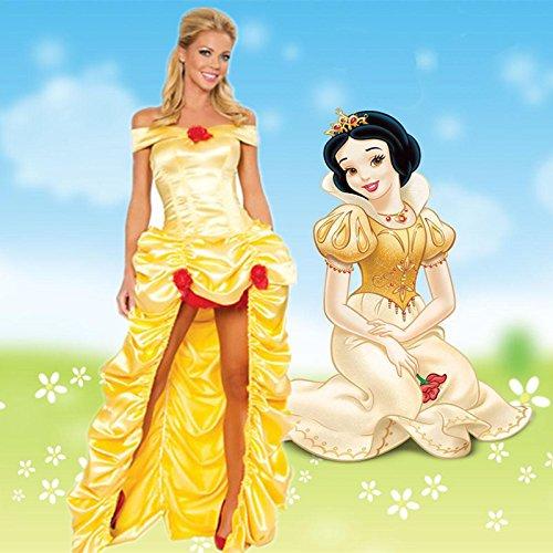 Kostüm Piraten Prinzessin Disney - Gorgeous Fantasie-Fee- Kleidlänge Rock Disney Schneewittchen Königin Halloween Märchen Prinzessin Kostüm