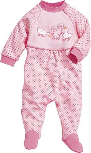 playshoes-baby-madchen-schlafstrampler-schlafanzug-schlafoverall-ganse-gr-68-rosa-original-900