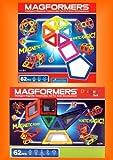 Original Magformers Geo & Desinger Set 124 Teilig