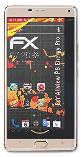 atFolix Schutzfolie kompatibel mit Allview P8 Energy Pro Bildschirmschutzfolie, HD-Entspiegelung FX Folie (3X)