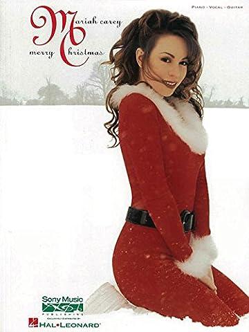 Mariah Carey: Merry Christmas (Album): Noten für Gesang, Klavier (Gitarre)
