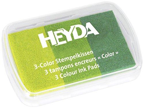 Heyda 204888463 Stempelkissen (60x30) grüntöne