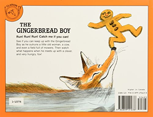 The Gingerbread Boy Book & CD [With CD (Audio)] (Read Along Paperback & Audio)