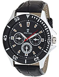 SWISS TREND Analogue Black Dial Men's Watch -ST-29