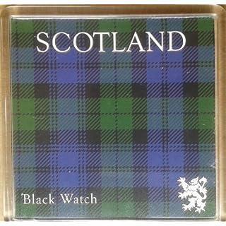 Auto Bits Scotland Fridge Magnet Black Watch Tartan