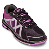KR Strikeforce Damen Kross Bowling shoes- schwarz/violett (8 1/2 M US, Schwarz/Lila)
