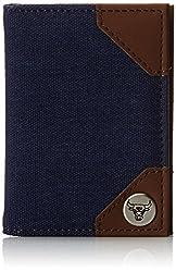NBA Chicago Bulls Bi-Fold Wallet, One Size, Navy