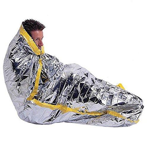 Couverture de survie / couverture de sauvetage / couverture de premiers secours / sac de couchage de survie (lot de 3 pièces)