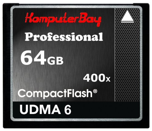Komputerbay 64GB Professionelle Compact Flash-Karte CF 400X WRITE 30MB / s lesen 60MB / s Extreme Speed   UDMA 6 RAW 64 GB -