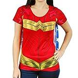 Best Bioworld Capes - Costume Superhero Femmes Wonder Woman T-shirt Avec Le Review