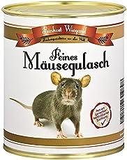 Mäusegulasch aus der Dose - witziges Geschenk - Scherzartikel - Wichtelgeschenk - Nikolausgeschenk - Weihnachtsgeschenk - Geburtstagsgeschenk, lustige Geschenkidee