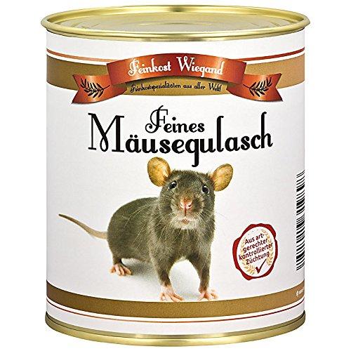 Mäusegulasch aus der Dose - witziges Geschenk