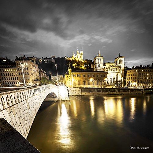 Artis 611369 Toile Pont Bonaparte Nuit Multicolore 44,5 x 44,5 cm