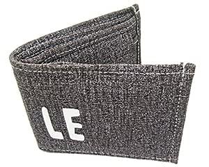 FERRET Blue Grey Unisex Wallet.Artificial Jeans Wallet for Men and Women.