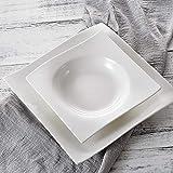 Vancasso Lolita Porzellan Geschirrset, 12-teilig Teller Set für 6 Personen, mit je 6 Speiseteller und Suppenteller - 4