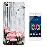 003362 - Pink roses on wood romantic love Design Wiko Ridge