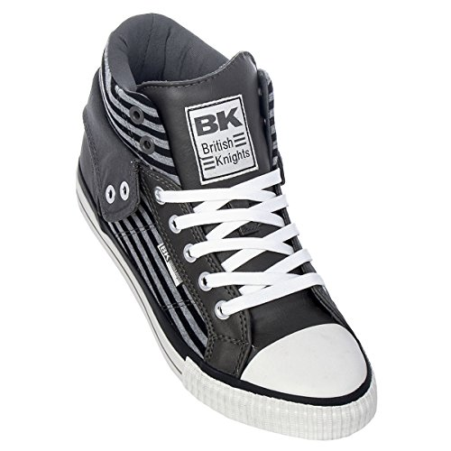 British Knights Herren ROCO BK Schuhe grey-black (B34-3730-02)