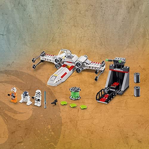 512rs0In8FL - LEGO Star Wars - Asalto a la Trinchera del Caza Estelar Ala-X, juguete de construcción de nave espacial de La Guerra de las Galaxias (75235)