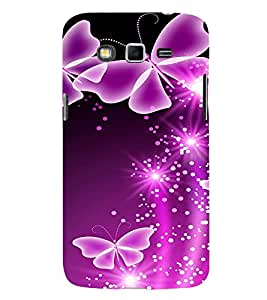 Butterflies 3D Hard Polycarbonate Designer Back Case Cover for Samsung Galaxy Grand I9082 :: Samsung Galaxy Grand Z I9082Z