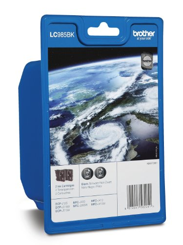 Brother LC-985BKBP2 – Cartucho de tinta