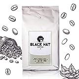 BLACK HAT COFFEE Crema - mehr als Premium-Kaffee - 1 KG ganze Bohnen für Vollautomaten & Siebträger