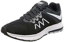 Nike Women s Zoom Winflo 3 Running Shoe Black/White Anthracite 7.5 B(M) US