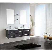 Suchergebnis auf Amazon.de für: Waschtisch 150 Cm   {Doppelwaschtisch mit unterschrank 150 56}