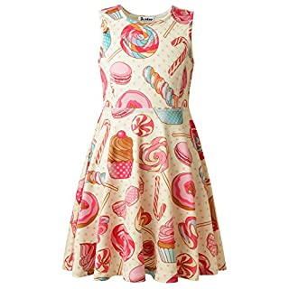 Jxstar Mädchen Kleid 13 Jahre Gr. 3 Jahre, candy
