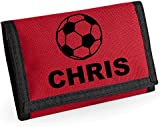 Football Personalised Wallet *Choice of colours* By Mayzie Designs®