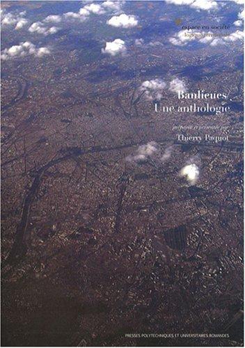 Banlieues: Une anthologie