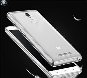 Micomy Ultra Thin Clear Transparent Flexible Soft TPU Slim Back Case Cover For Xiaomi Redmi Note 3