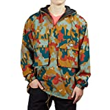 Obey - Jacke - Lock Down Anorak Drip - Camouflage (S)
