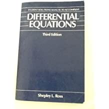 Sl Ross Differential Equations Pdf