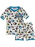 Power Rangers Pijamas de manga corta para Niños Ninja Steel Ajuste Ceñido Multicolor 3 - 4 Años