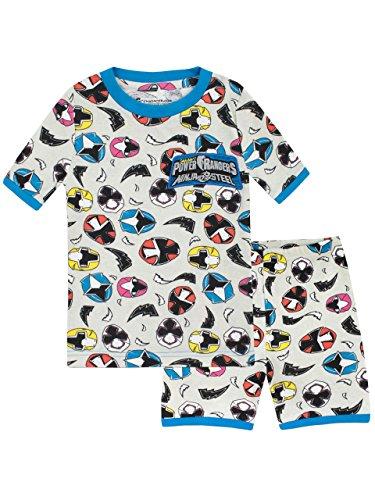 Power Rangers Jungen Ninja Steel Schlafanzug Slim Fit Mehrfarbig 128