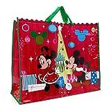 Disney Mickey Minnie Mouse & Amici Natale Pouch Bag XXL