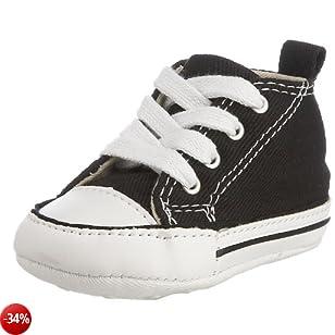 Converse First Star 88875, Sneaker, Unisex bambino, Nero, 19 M EU Bambino