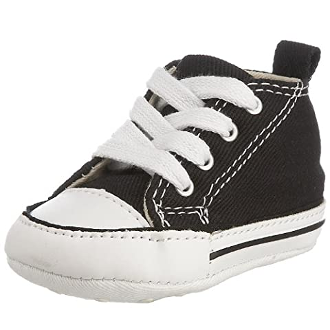 Converse First Star Cvs, Unisex-Kinder Sneaker, Schwarz (Noir), 20 EU (Million Star)