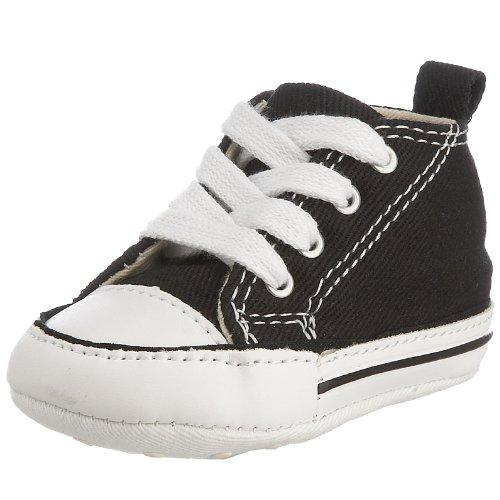 Converse First Star Cvs 022110-12-8, Unisex - Kinder Sneaker, Schwarz (Noir), EU 19