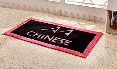 GMM® Carpet Mats Home Handmade Dusting Acrylic Cartoon Carpet Living Room Foyer Bedroom Kids Room Piazza Rectangular Carpet Classic D 0.8*1.6 M