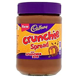 Cadbury Crunchie Chocolate Spread 400G by Cadbury