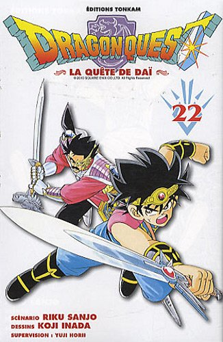 Dragon Quest -Tome 22- (Shonen Tonkam)