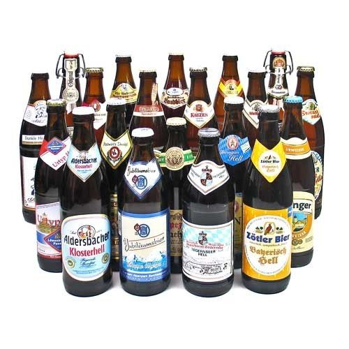 Bayerische Biere im Bierset (20 Flaschen / 5,9 % vol.)