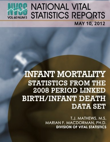 National Vital Statistics Reports Volume 60, Number 5: Infant Mortality Statistics From the 2008 Period Linked Birth/Infant Death Data Set por Centes for Disease Control and Prevention