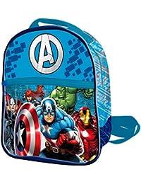 Sac à dos Avengers 40 cm Gris Bleu noir