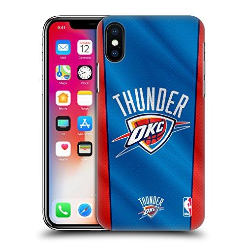 Ufficiale NBA Rovinato Oklahoma City Thunder Cover Retro Rigida per Apple iPhone 7 / iPhone 8 Banner